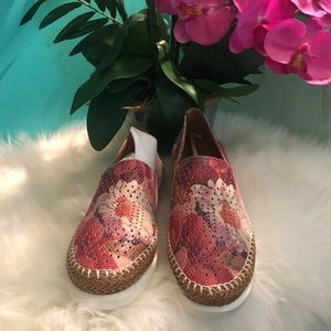 Floral Multi Stazzema slip on shoes